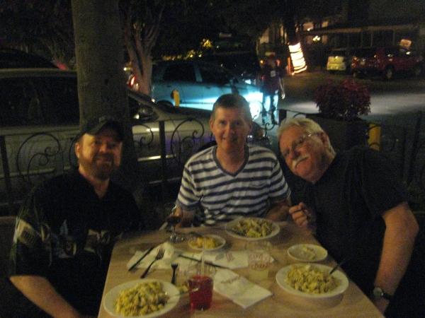 First meal in Guadalajara