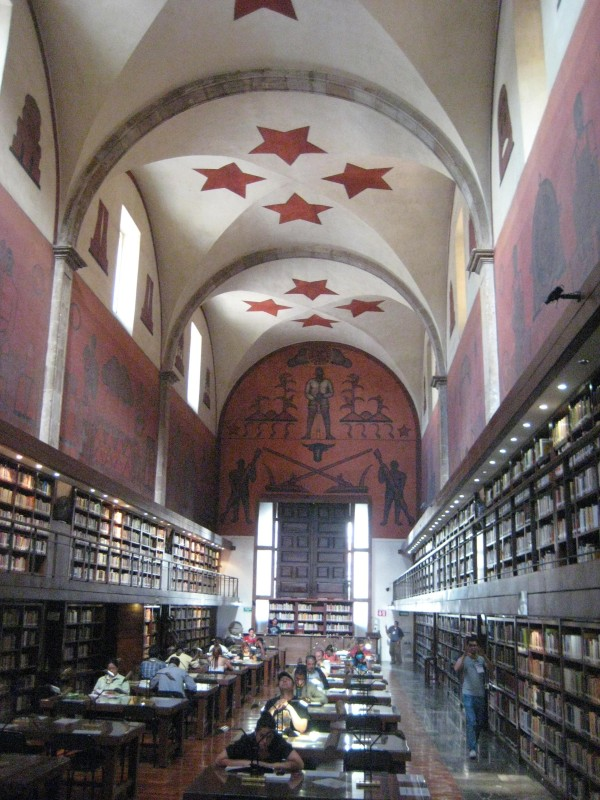 Guad Library #1 interior