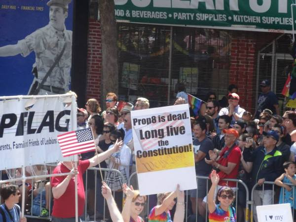 2013 SF Pride Parade - Long Live the Constitution - Photo by Larry Minogue