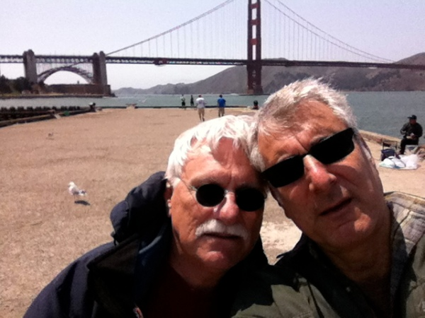 C&G at Fort Mason  - photo by Harve