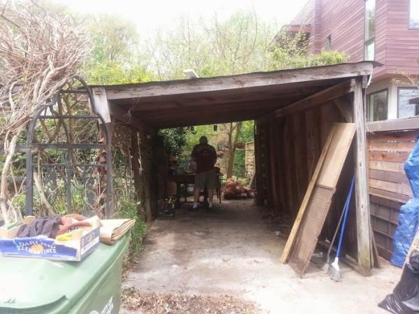 Shed Teardown 6