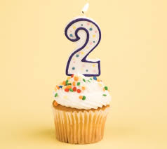 2 year cupcake