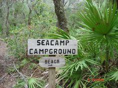 Cumberland #16 Sea Camp Signpost