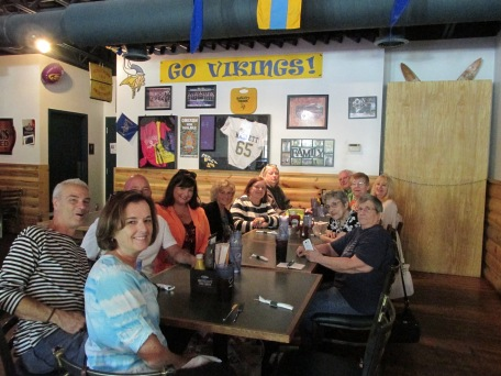Some of Kris's relatives and friends, who we met on our first day in Michigan