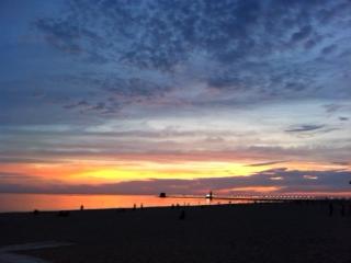 Cal's sunset photo