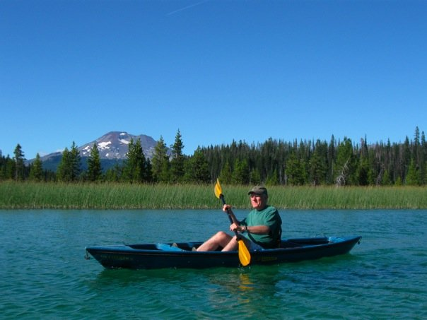 Kayaking in Oregon