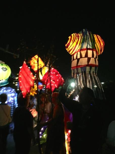 Lantern parade by Tom Budlong