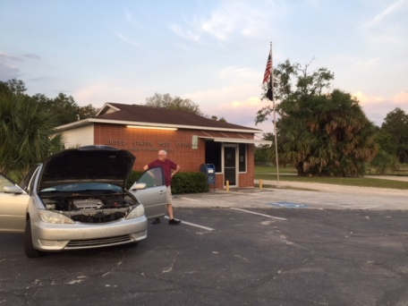 Randy photo - car breakdown in Salem, Florida