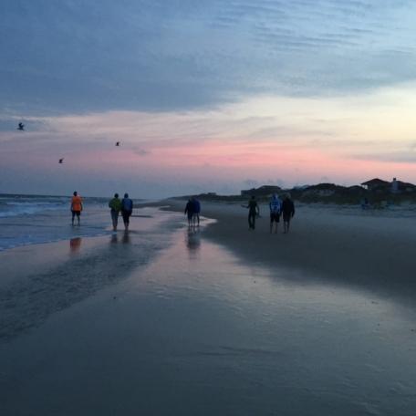 Randy photo - group on beach