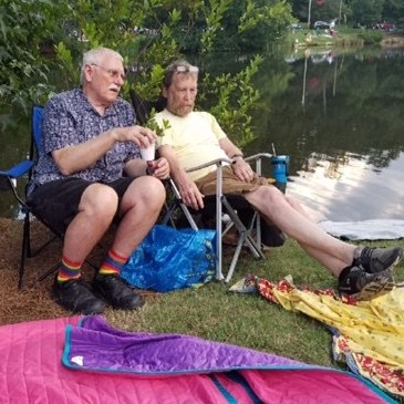 Cal and Randy July 4 2018