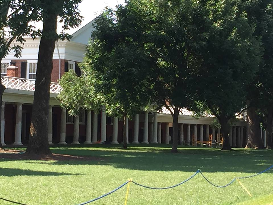 Another colonnade at UVA