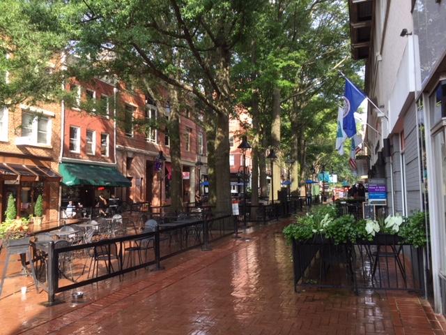 Charlottesville pedestrian mall