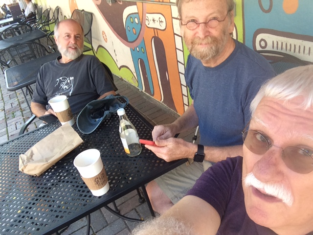 Charolottesville with Randy Cal and Reed
