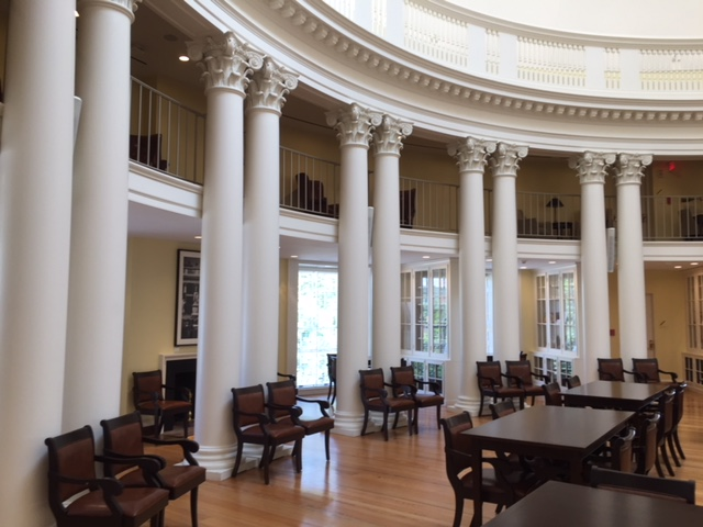 UofVA Rotunda interior