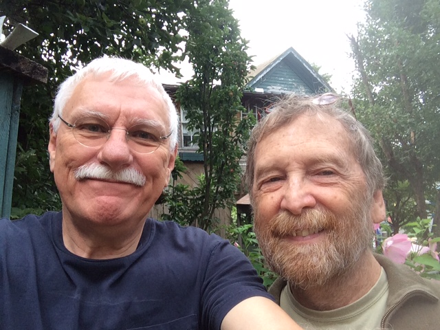 Wytheville Garden with Cal and Randy