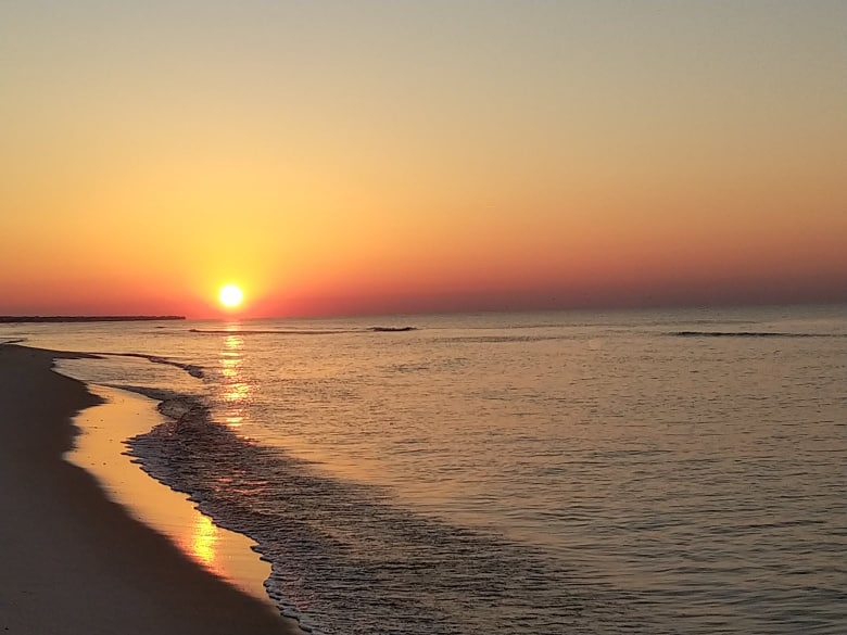 Randall's photo of sunrise
