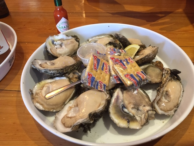 Randy's and John's oysters