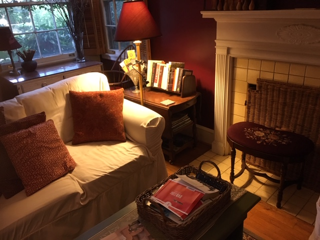 Living Room - sofa seat