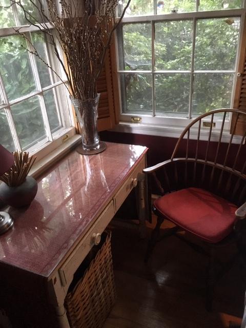 Living room window table