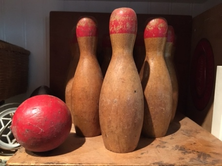 miniature bowling pin collection 1