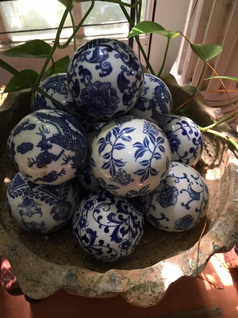 part of blue and white collection