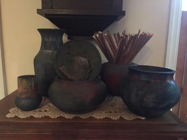 raku pottery 2