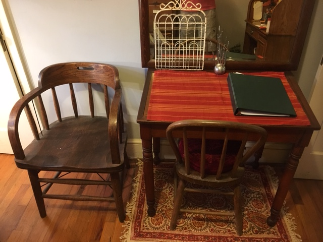 study - most recently purchased desk