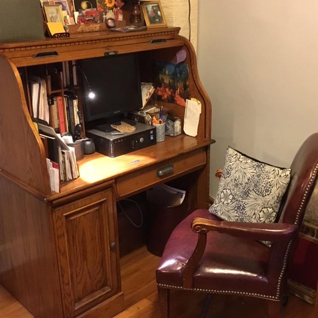 Study - rolltop desk