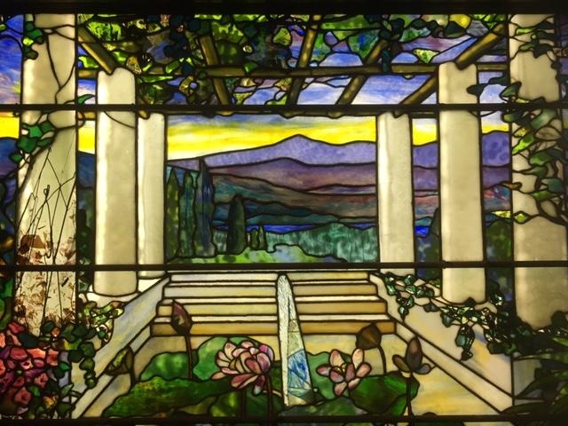 Tiffany glass window 2