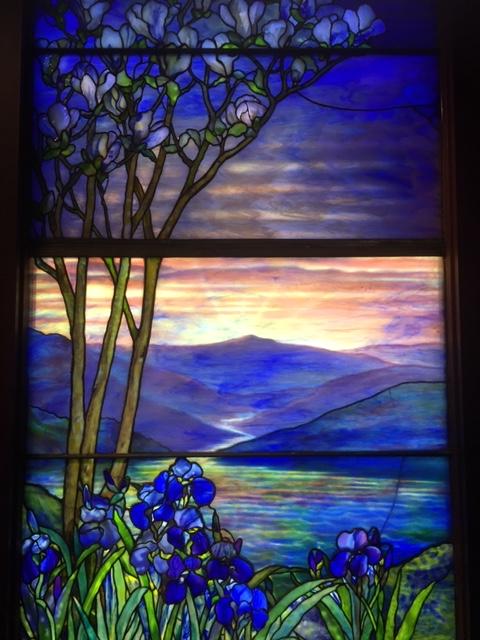 Tiffany glass window 3