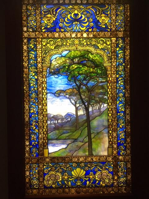 Tiffany glass window 6