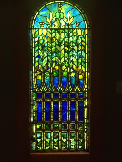 Tiffany glass window 7
